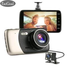 Price Esogoal 4 Dash Cam Front And Rear Dual Lens Camera Night Vision 1080P 140° Car Dvr On Dash Video Recorder G Sensor Vehicle Camera Camcorder Motion Detection Intl Esogoal China
