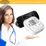 Esogoal Automatic Digital Lcd Arm Blood Pressure Monitor Lcd Heart Beat Home Sphgmomanometer White Intl China