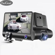 Discount Esogoal Dash Dash Cam 3 Channel Fhd 1080P 4 Dual Lens With Rear View Camera Video Recorder G Sensor Vehicle Camera Camcorder Dashboard Camera Night Vision G Sensor Intl China