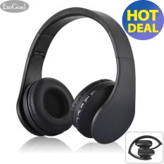 Esogoal Wireless Bluetooth Headphone Foldable Headset Noise Isolation Over Ear Earphone With Mic Black Intl Lowest Price
