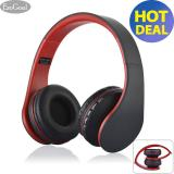 Price Esogoal Wireless Bluetooth Headphone Foldable Headset Noise Isolation Over Ear Earphone With Mic Red Intl Esogoal