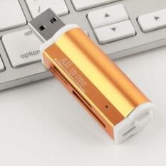 Etmakit New USB 2.0 All in 1 Multi Memory Card Reader Stick for SDHC MMC TF Random Color - intl