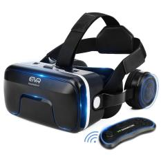 Shop For Etvr 3D Vr Headset With Remote Controller Large Viewing Immersive Experience Virtual Reality Glasses With Builted In Stereo Headphone For Vr Games 3D Movies Fit For Ios Android Smartphones Intl