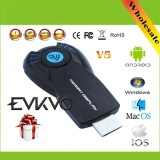 Evkvo Chrome Cast Ez Cast Vsmart V5Ii Ezcast Miracast Wireless Display Dongle Hdmi 1080P Tv Stick Dlna Airplay For Windows Ios Android Intl China