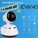 For Sale Evkvo Wireless Ip Camera Wifi Hd 1080P Full 2Mp P2P Baby Monitor Night Vision Intl