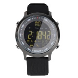 Ex18 Men Waterproof Sports Smart Watch Pedometer Metal Frame Black One Size Intl Cheap