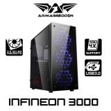Excellent Atx Gaming Tower Design Infineon 3000 Armaggeddon Shop