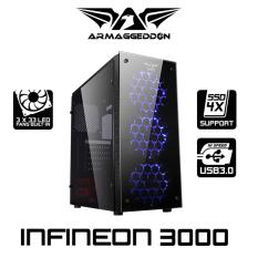 Shop For Excellent Atx Gaming Tower Design Infineon 3000 Armaggeddon