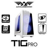 Excellent Micro Atx Gaming Casing Armaggeddon T1G Pro Tempered Glass Front Panel Armaggeddon Cheap On Singapore