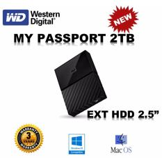 Who Sells Western Digital My Passport 2Tb Black Ext Hdd External Hard Disk Wd Sg Set