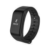 F1 Bluetooth Smart Watch Sports Pedometer Heart Rate Monitor F Ios Android Black Intl Best Buy