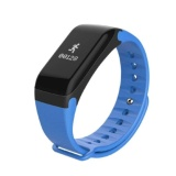 Buying F1S Ip66 Bluetooth 4 Wristband Smart Watch Heart Rate Monitor Blood Pressure Blood Oxygen Tracker Sleep Monitor Pedometer Smart Bracelet For Ios And Android Intl