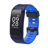 Low Price F4 Ip68 Waterproof Heart Rate Blood Pressure Fitness Tracker Smart Watch Blue Intl