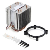 Buy Fan Cpu Quiet Cooler Heatsink 4 Heat Pipe For Intel Lga775 1155 1156 Core I7 Amd Intl Not Specified Online