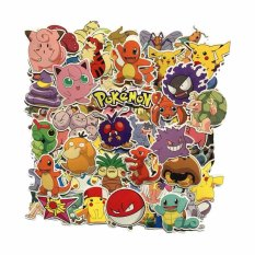 Fancyqube 80pcs/set Mixed Pokemon Go Waterproof Car Stickers Skateboard Notebook Luggage Compartment Stickers - Intl By Fancyqube Fashion.