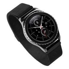 Fashion Milanese Magnetic Clasp Stainless Steel Mesh Watch Bands For Xiaomi Huami Amazfit 22mm Replacement Watchband Black - Intl By Stoneky.