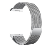 Purchase Fashion Stainless Steel Mesh Replacement Wrist Watch Band Strap Bracelet 22Mm Width Magnetic Closure For Fitbit Ionic Intl