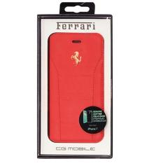 Ferrari Genuine Leather Folio Case For Iphone 7 Iphone 8 Red Lowest Price