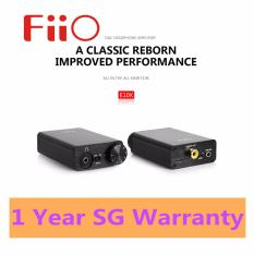 Review Fiio Olympus2 E10K Usb Dac And Headphone Amplifier Black Black Singapore