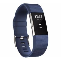 Fitbit Charge 2 Heart Rate Fitness Wristband Size S Blue Lowest Price