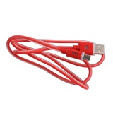 Flat Micro Usb Charger Data Sync Cable For Samsung Htc Android Red Intl Best Price