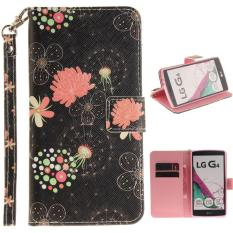 Great Deal Flip Wallet Style Simple Pattern Pu Leather And Soft Tpu Stand Protection Phone Case For Lg G4 Intl
