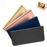 Cheap Flip Window Shockproof Leather Case Cover For Iphone 6 Plus 6S Plus Gold