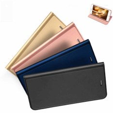 Best Price Flip Window Shockproof Leather Case Cover For Iphone 6 Plus 6S Plus Gold