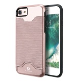 Get The Best Price For Floveme Anti Knock Case With Card Holder Cover For Apple Iphone 7 Intl