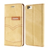 Shop For Floveme For Apple Iphone 7 Plus Denim Cloth Flip Cover Wallet Phone Case Intl