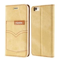 Price Comparisons Of Floveme For Apple Iphone 7 Plus Denim Cloth Flip Cover Wallet Phone Case Intl