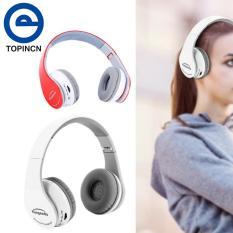 Foldable Bluetooth Wireless Gaming Headset Headphone Hifi Stereo Earphone for PS4 White - intl