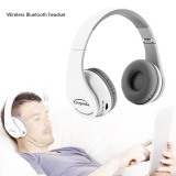 Great Deal Foldable Bluetooth Wireless Gaming Headset Headphone Hifi Stereo Earphone For Ps4 White Intl
