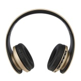 Compare Foldable Wireless Headphone Card Radio Bluetooth Stereo Headset Gold Intl