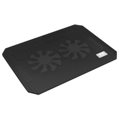 foorvof Laptop Cooling Cooler Pad - 2x Silent Fans - intl