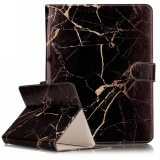 For 7 Inch Tablet Pc Black Gold Marble Pattern Universal Horizontal Flip Leather Case With Holder And Card Slots And Wallet Intl Shop