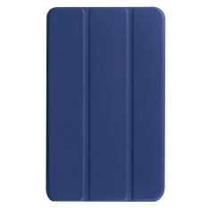 Price For Acer Iconia One 8 B1 850 Custer Texture Horizontal Flip Solid Color Leather Case With Three Folding Holder Dark Blue Intl Oem Online