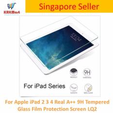 Price For Apple Ipad 2 3 4 Real A 9H Tempered Glass Film Protection Screen Lq2 Singapore
