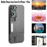 Buy For Apple Iphone 7 Plus Phone Dual Camera Lens Fisheye Wide Angle Macro Telescope Camera Phone Lense With Protection Case Intl Online China