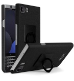 For Blackberry Keyone Frosted Case With Ring Holder Cowboy Matte Case For Blackberry Mercury Hard Pc Back Cover Screen Film Black Intl Coupon Code