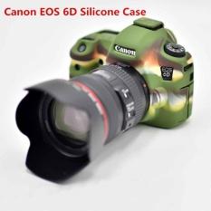 For Canon EOS 6D Silicone Case Camera Bag Rubber Body Protective Cover - intl