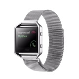 Sale For Fitbit Blaze Watch Loop Magnetic Closure Clasp Stainless Steel Watchband Silver Intl Hong Kong Sar China