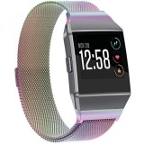 For Fitbit Ionic Bands Metal Snowcinda Stainless Steel Milanese Magnetic Replacement Sprot Strap Accessories For Fitbit Ionic Smart Watch Women Men Intl Coupon Code