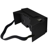 Price Compare For Google Cardboard V2 3D Glasses Virtual Reality Fit 6Inch Phone Headband Intl