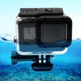 Get The Best Price For For Gopro Hero6 5 30M Waterproof Housing Protective Case Hollow Back Cover With Buckle Basic Mount And Scr*w No Need To Disassemble Lens Intl