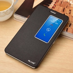 For Huawei Honor X2 7 Inch Double View Window Flip Leather Cover Case Luxury Pu Leather Case Black Intl Sale