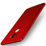 Retail For Huawei Mate 9 5 9 Inch Case 360 Full Protection Matte Hard Plastic Slim Back Cover Red Intl