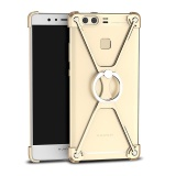Price For Huawei P9 Plus Vie Al10 5 5 Inch Protect Frame Cover Ring Holder X Shape Ultra Thin Aluminum Metal Shockproof Bumper Mobile Phone Case Gold Intl Oem