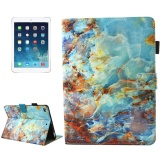 Deals For For Ipad 9 7 Inch 2017 Ipad Air Ipad Air 2 Universal Green Marble Pattern Horizontal Flip Leather Protective Case With Holder And Card Slots And Sleep Intl