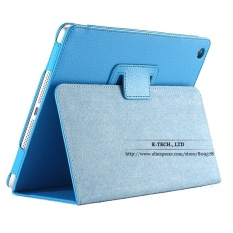 Shop For For Ipad Mini Case Matte Soft Flip Litchi Pu Leather For Apple Ipad Mini 1 2 3 Coque Cover Smart Stand Auto Sleep Wake Up Style Intl